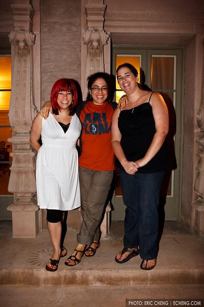 Trio Diavolo: Tori Lindsay, Sahar Nouri and Nadia Klein (SLSQ Summer Chamber Music Seminar 2010)