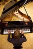 Stephen Prutsman at the piano (SLSQ Summer Chamber Music Seminar 2010)