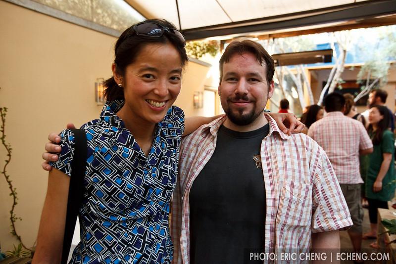 Jessica Seeliger and Hector Moreno (SLSQ Summer Chamber Music Seminar 2010)