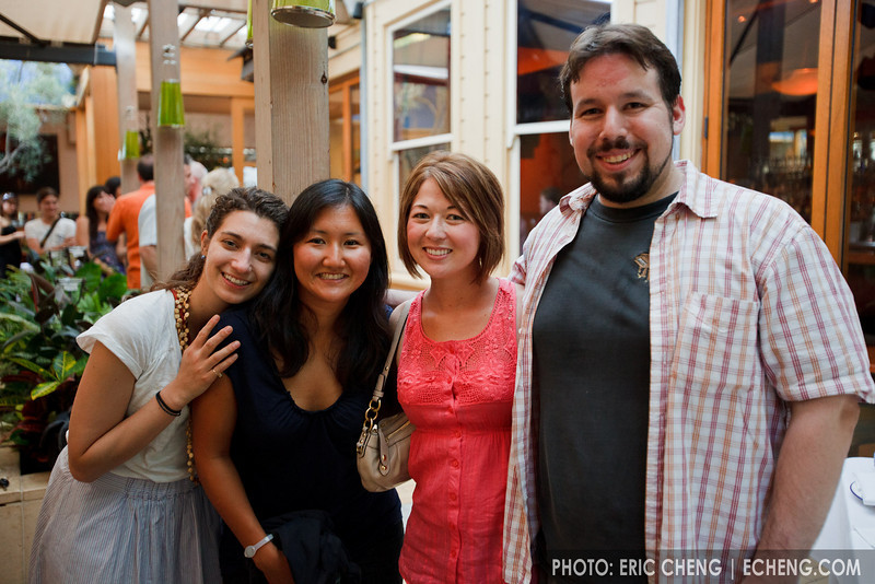 Natalie, Julie, Ivy and Hector (SLSQ Summer Chamber Music Seminar 2010)