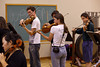 The new rage is wearing a digital SLR while playing music (SLSQ Summer Chamber Music Seminar 2010)