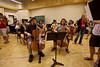 Hector Moreno, Nadia Klein, and the gigantic cello section (SLSQ Summer Chamber Music Seminar 2010)