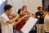 Chamber orchestra reading (SLSQ Summer Chamber Music Seminar 2010)