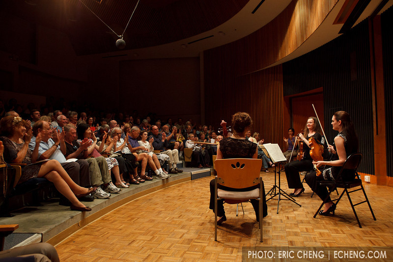 The Elandra Quartet performs (SLSQ Summer Chamber Music Seminar 2010)