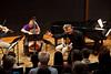 Rob Kapilow and the SLSQ during a What Makes It Great talk (SLSQ Summer Chamber Music Seminar 2010)