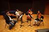 Hausmann Quartet at masterclass (SLSQ Summer Chamber Music Seminar 2010)