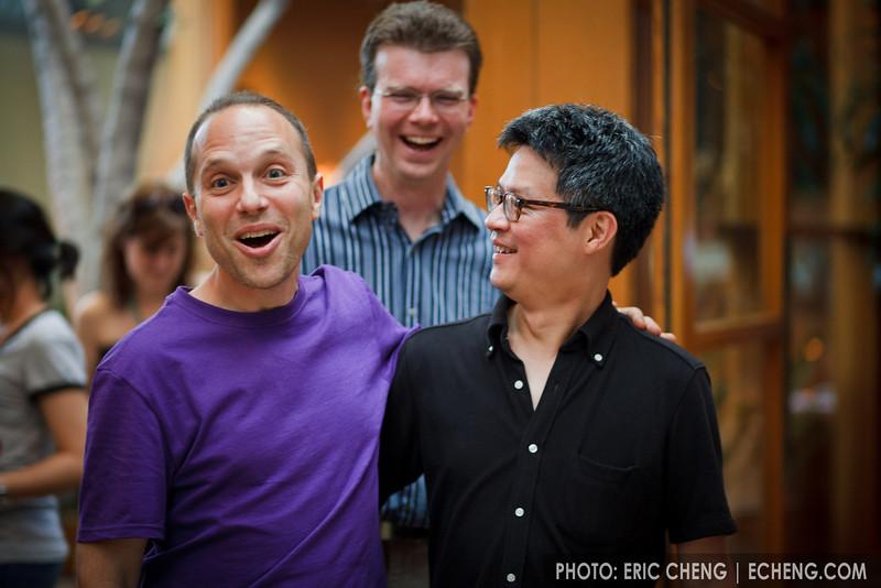 Chris, Ivan and Scott (SLSQ Summer Chamber Music Seminar 2010)