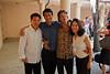 Eric Cheng, Alex Li, Geoff Nuttall, Heidi Hau Tyan (photo: Irvin Tyan) (SLSQ Summer Chamber Music Seminar 2010)