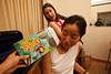 Jessica Chuang Seeliger, Shannon Thomas and a box of Joe-Joe's (why is that possessive?) (SLSQ Summer Chamber Music Seminar 2010)
