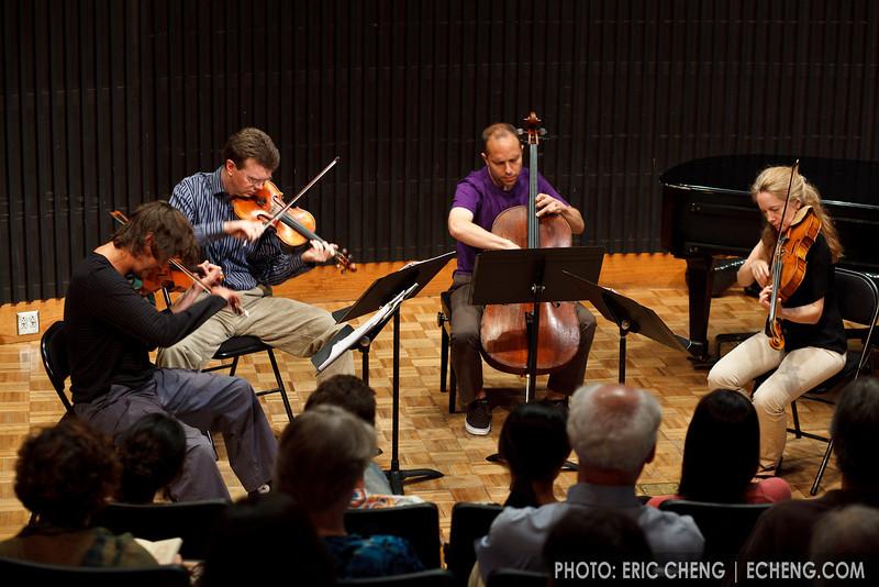 The St. Lawrence String Quartet (SLSQ Summer Chamber Music Seminar 2010)