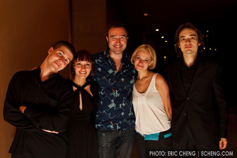 David Pay and the Rusquartet (SLSQ Summer Chamber Music Seminar 2010)