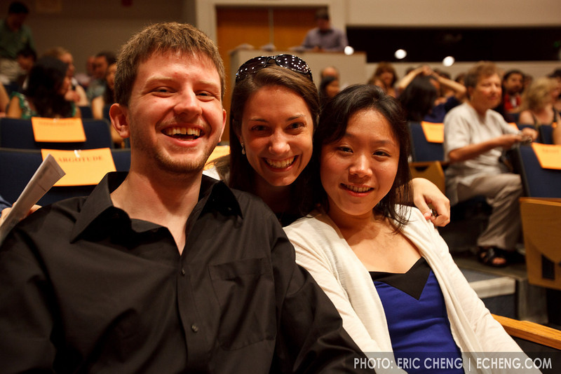 Alan Richardson, Shannon Thomas and Michelle Lie (SLSQ Summer Chamber Music Seminar 2010)