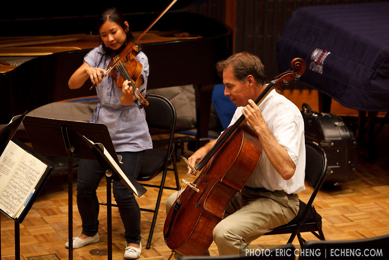 Jim Zehnder and Julie Saiki (SLSQ Summer Chamber Music Seminar 2010)