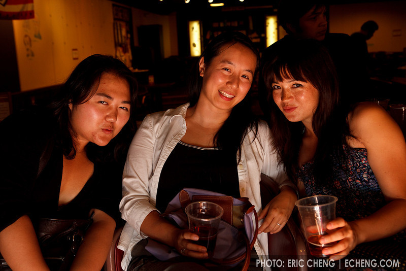 Estelle Choi, Sharon Wei and Serena McKinney (SLSQ Summer Chamber Music Seminar 2010)