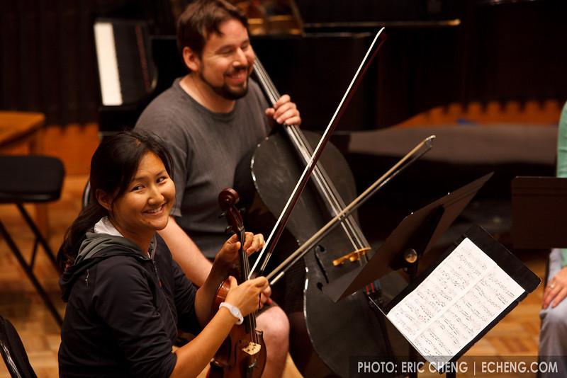 Julie Lee and Hector Moreno (SLSQ Summer Chamber Music Seminar 2010)