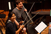 Julie Lee and Hector Moreno (SLSQ Summer Chamber Music Seminar 2010)