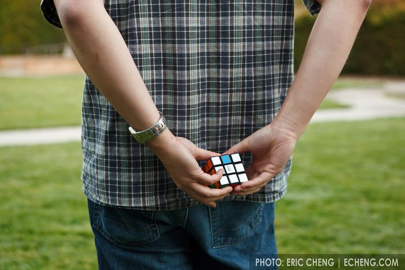 Leyan Lo, Rubic's Cube master (SLSQ Summer Chamber Music Seminar 2010)