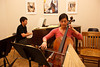 """Olivia said she would """"hunt me down"""" if I posted a bad photo of her, so I'm on high alert. (SLSQ Summer Chamber Music Seminar 2010)"""