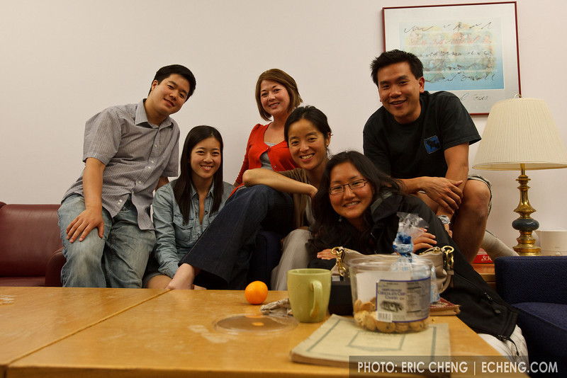 Hanging out at midnight (SLSQ Summer Chamber Music Seminar 2010)