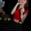 Singer Abby Hoti performing at the Producer's Club Lounge Got Balkan Party