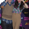 Nick Noonan & Amy Heidemann of the group Karmin at Perez Hilton's One Night in New York City