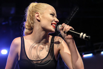 HOLLYWOOD, CA - AUGUST 10:  Rapper Iggy Azalea performs at the Sneaker Pimps 10 year anniversary tour at Vanguard on August 10, 2012 in Hollywood, California.  (Photo by Chelsea Lauren/WireImage)
