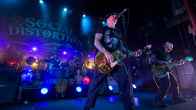 October 20, 2018, Social Distortion at Old National Centre in Indianapolis, IN. Photo by Tony  Vasquez.