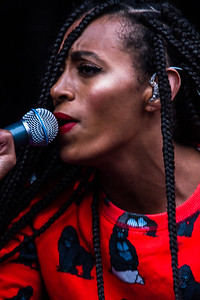 Solange Knowles live at Hatfield House