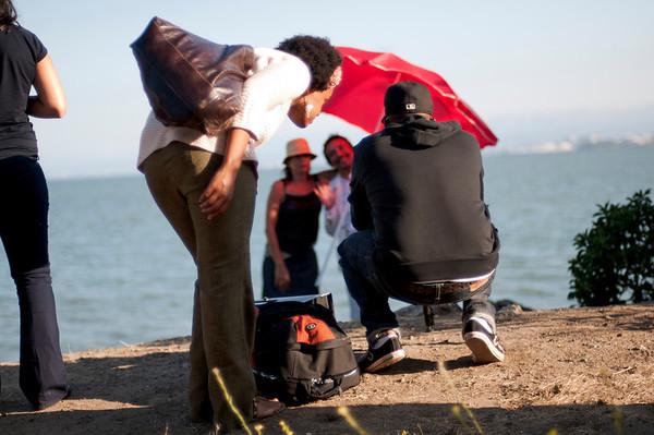 soleil soleil -  music video - behind the scenes