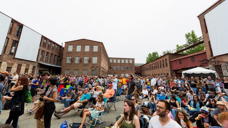 Saturday June 27, 2015 Solid Sound Music Festival at Mass MoCA in North Adams, MA.