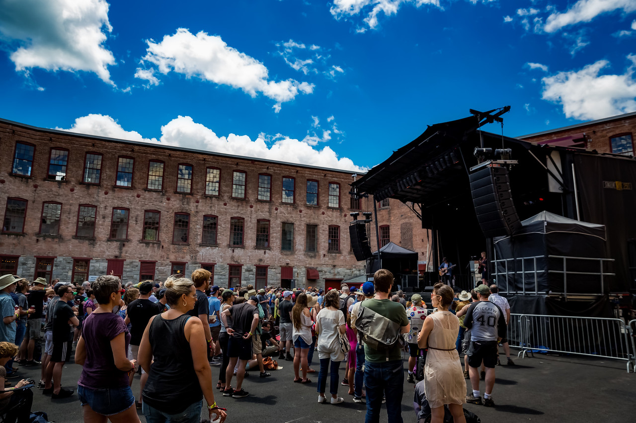 June 24, 2017 Day two of the Solid Sound Festival at MASS MoCA in North Adams, Massachusetts. Photo by Tony Vasquez.
