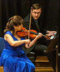 Aloysia Friedmann and Andrew Staupe play Beethoven