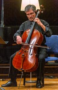 Barrett Sills playing cello
