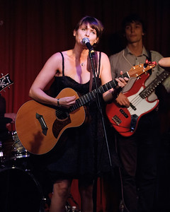 Sophie Barker of Zero 7 performs at Hotel Cafe in Hollywood, CA