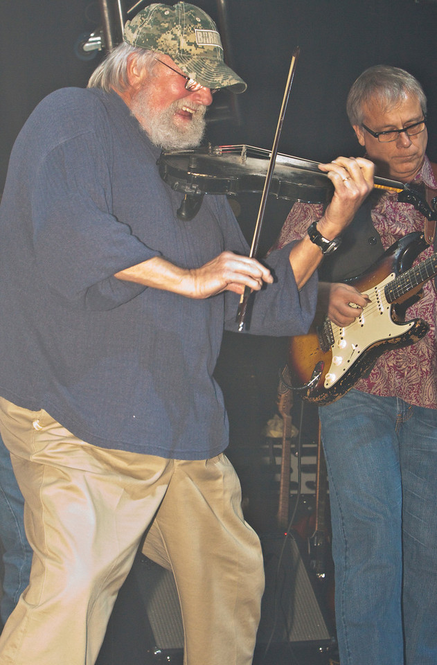Charlie Daniels and Bruce Brown Go Lick for Lick... Having FUN and Going Strong!