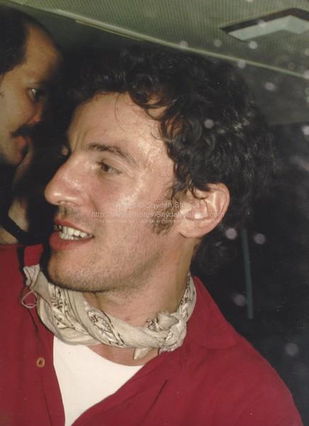 Bruce after a 1985 concert