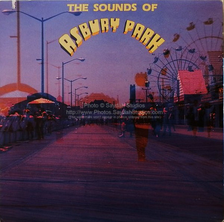 The Sounds of Asbury Park album cover (high res image coming soon)