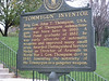 """Historical marker at entrance of Southgate House front lawn. <br /> """"Of all the Thompson gunners, Roland was the best.""""   Warren Zevon"""