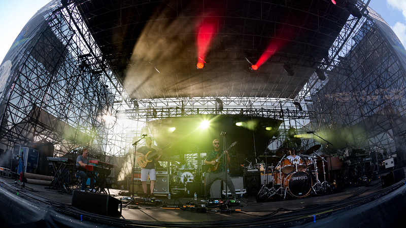 August 11, 2018 Spafford opening for Umphrey's McGee at the Farm Bureau Insurance Lawn in Indianapolis, Indiana. Photo by Tony Vasquez for Jams Plus Media.