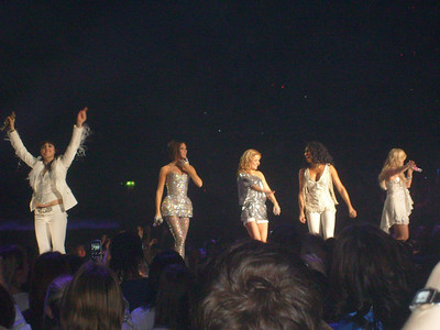 Spice Girls at the Manchester Evening News Arena (UK) - 24th January 2008.Spice Girls Photos by Becki Nelson