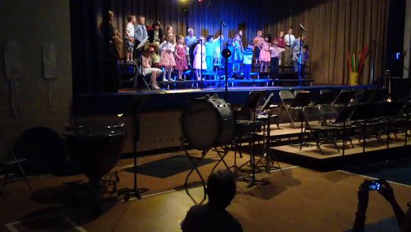 Spring K-4 & 5-8 Band & Choral Concert Videos (5.18.16)