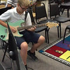 """Rock Band: 2016 Ethan Hoak practicing his solo in """"Back in Black"""""""