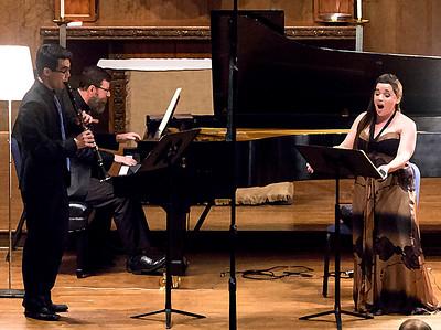 """Schubert, """"Der Hirt auf dem Felsen, D. 965"""" Krissman, Waters, Fox ... drybrush"""