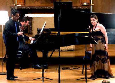 """Schubert, """"Der Hirt auf dem Felsen, D. 965""""  Krissman, Waters, Fox"""