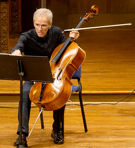 Christopher French prepares to play Villa-Lobos
