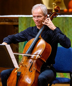 Christopher French playing Cello