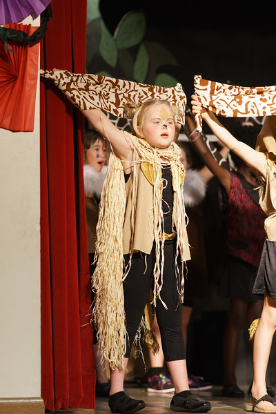 2016 Stage Struck Performance of Lion King with Katie as Simba