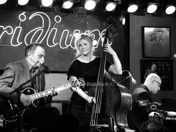 LOU PALLO - GUITAR, NICKI PARROTT - BASS, JOHN COLIANNI - PIANO <br /> photo by Rob Rich © 2010 robwayne1@aol.com 516-676-3939