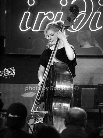 NICKI PARROTT - BASS <br /> photo by Rob Rich © 2010 robwayne1@aol.com 516-676-3939