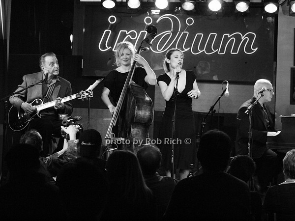 LOU PALLO - GUITAR, NICKI PARROTT - BASS, guest singer, JOHN COLIANNI - PIANO <br /> photo by Rob Rich © 2010 robwayne1@aol.com 516-676-3939